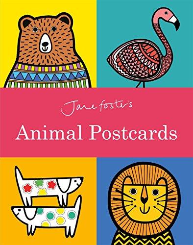 Jane Foster's Animal Postcard Book von Jane Foster