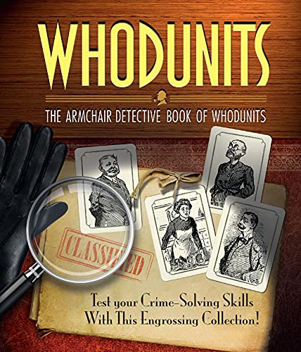 Whodunnits: The Armchair Detective Book of Whodunits by Arcturus Publishing