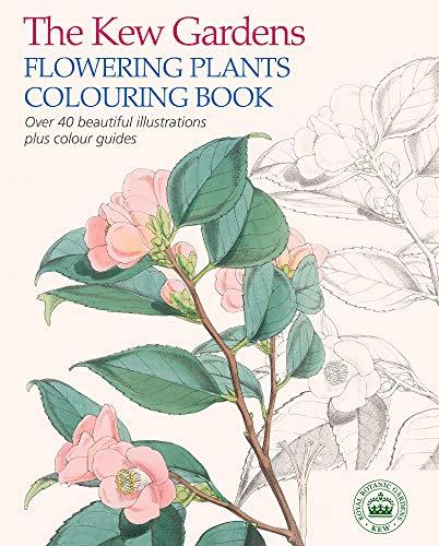 The Kew Gardens Flowering Plants Colouring Book By The Royal Botanic Gardens Kew