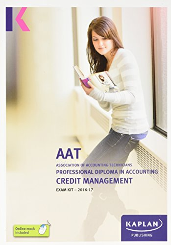 AAT Credit Management - Exam Kit By Other Kaplan Publishing