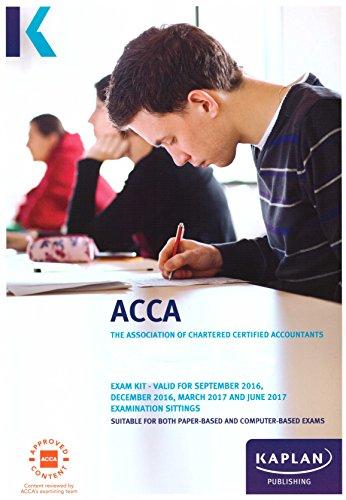 ACCA P4 Advanced Financial Management - Exam Kit (Acca Exam Kits) Other Kaplan Publishing