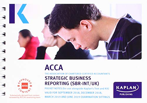Strategic Business Reporting - Pocket Notes (Acca Pocket Notes) By Kaplan Publishing