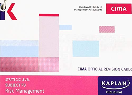 P3 RISK MANAGEMENT - REVISION CARDS By Kaplan Publishing