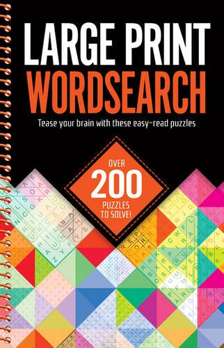 Large Print Wordsearches By Igloo Books
