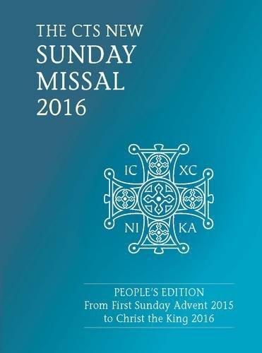 CTS Sunday Missal 2016 By Catholic Truth Society