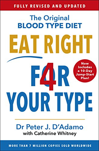 Eat Right 4 Your Type: Fully Revised with 10-day Jump-Start Plan By Peter D'Adamo