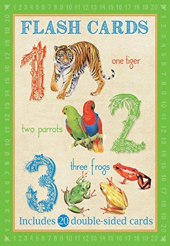 Animal Flash Cards: 123 von Camilla de le Bedoyere