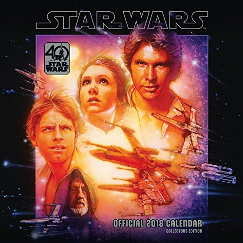 Star Wars 40th Anniversary Official 2018 Calendar - Square Wall Format by