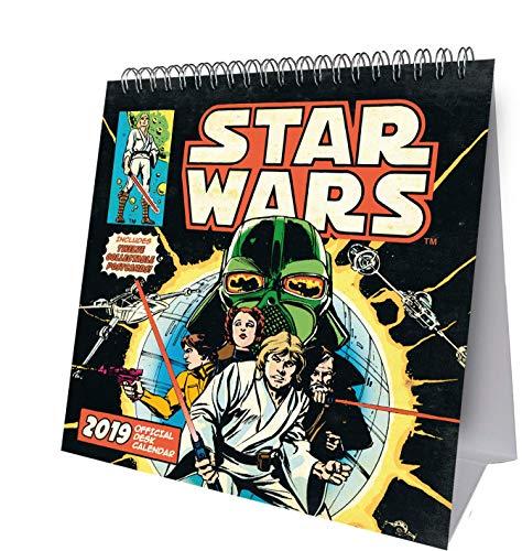 Star Wars Desk Easel Official 2019 Calendar - Desk Easel Format By Star Wars