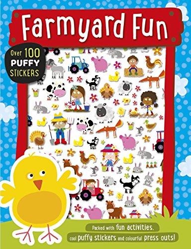 Farmyard Fun Puffy Sticker Book By Lara Ede