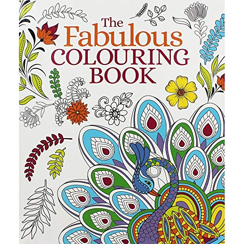Fabulous Colouring Book By Arcturus Publishing Used Very Good