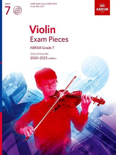 Violin Exam Pieces 2020-2023, ABRSM Grade 7, Score, Part & CD By ABRSM