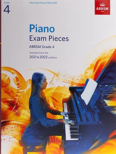 Piano Exam Pieces 2021 & 2022, ABRSM Grade 4 By ABRSM