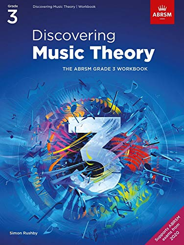 Discovering Music Theory, The ABRSM Grade 3 Workbook By (music) ABRSM