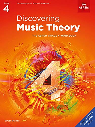 Discovering Music Theory, The ABRSM Grade 4 Workbook By (music) ABRSM