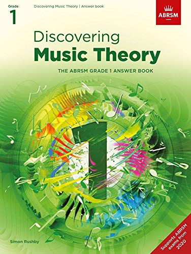 Discovering Music Theory, The ABRSM Grade 1 Answer Book By ABRSM