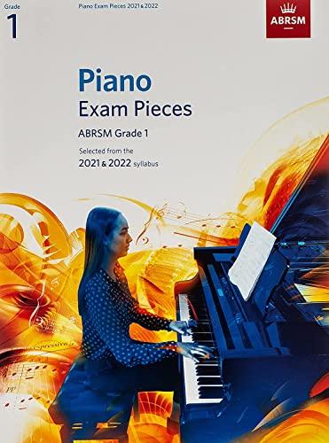 Piano Exam Pieces 2021 & 2022, ABRSM Grade 1 By ABRSM