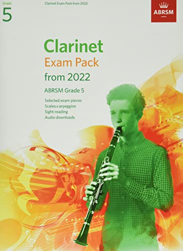 Clarinet Exam Pack from 2022, ABRSM Grade 5 By ABRSM