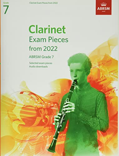Clarinet Exam Pieces from 2022, ABRSM Grade 7 By ABRSM