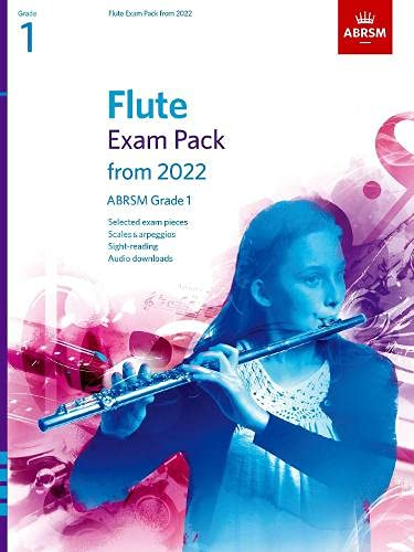 Flute Exam Pack from 2022, ABRSM Grade 1 By ABRSM