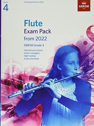 Flute Exam Pack from 2022, ABRSM Grade 4 By ABRSM