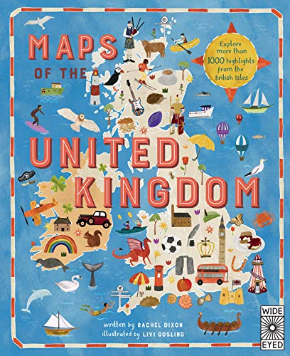 Maps of the United Kingdom By Rachel Dixon