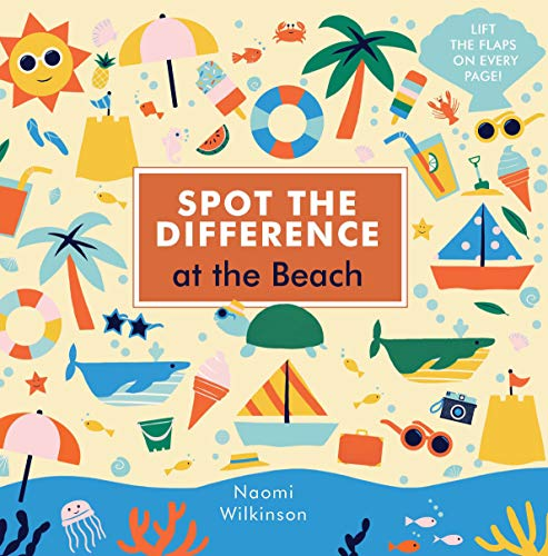 Spot the Difference: At the Beach By Naomi Wilkinson