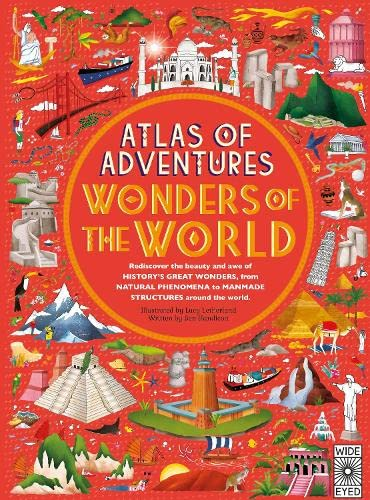 Atlas of World Wonders By Illustrated by Lucy Letherland