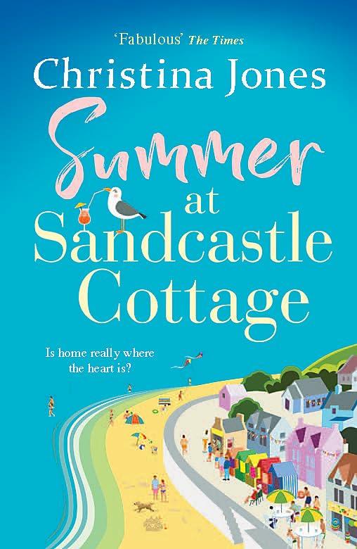 Summer at Sandcastle Cottage By Christina Jones