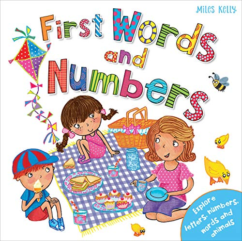 First Words and Numbers By Kelly Miles