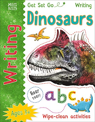 Get Set Go Writing: Dinosaurs By Kelly Miles