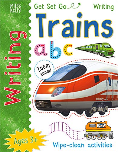 Get Set Go Writing: Trains By Kelly Miles