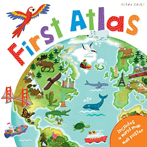 C48 First Atlas Book By Phillip Steele