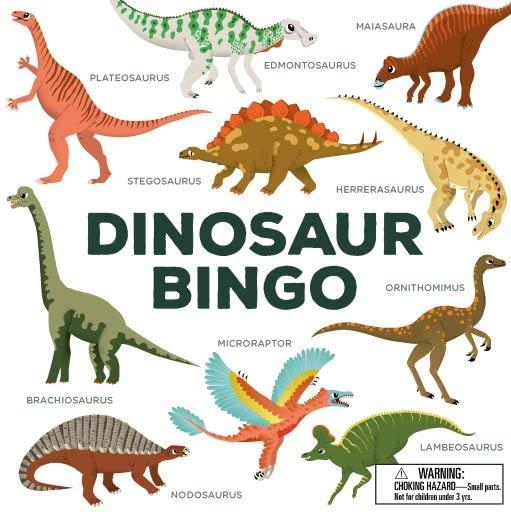 Dinosaur Bingo (Board Games) By Selmes Caroline