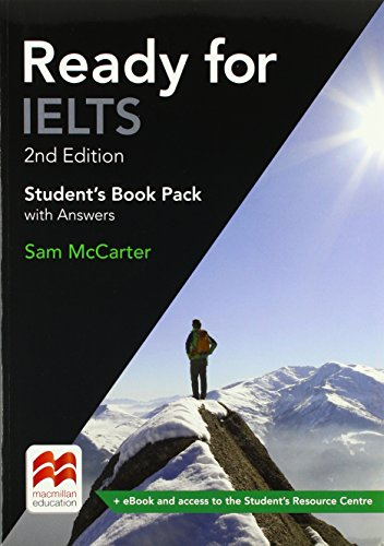 Ready for IELTS 2nd Edition Student's Book with Answers Pack By Sam McCarter