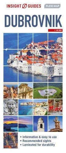 Insight Guides Flexi Map Dubrovnik By Insight Guides