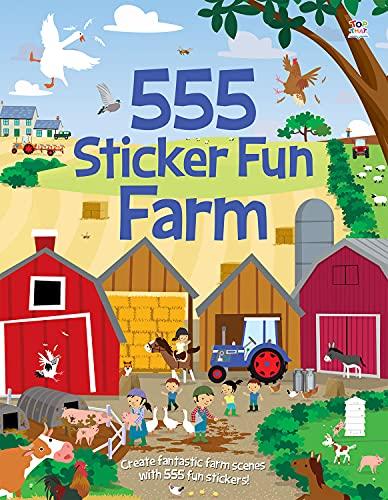 555 Sticker Fun Farm By Joshua George