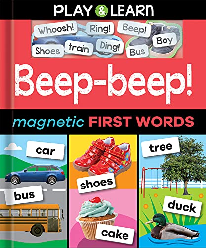 Beep-beep! Magnetic First Words By Nat Lambert