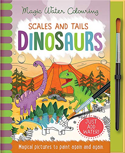 Scales and Tails - Dinosaurs By Jenny Copper