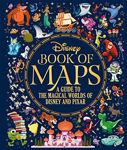 The Disney Book of Maps By Walt Disney Company Ltd.
