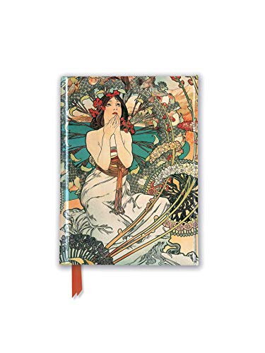 Mucha: Monaco Monte Carlo (Foiled Pocket Journal) By Flame Tree Studio
