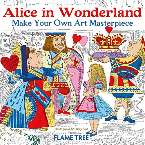 Alice in Wonderland (Art Colouring Book) By Daisy Seal