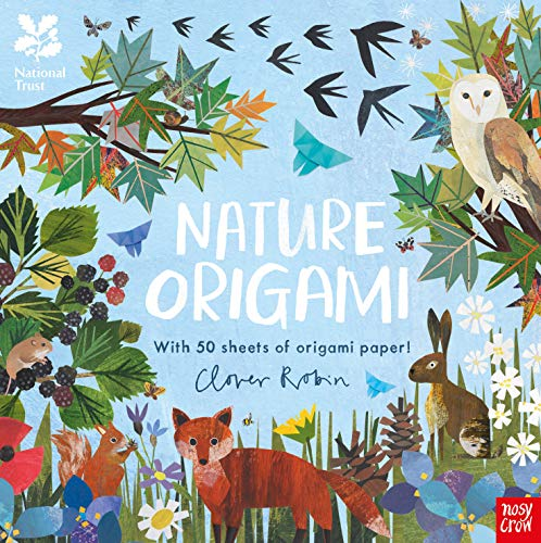 National Trust: Nature Origami By Illustrated by Clover Robin
