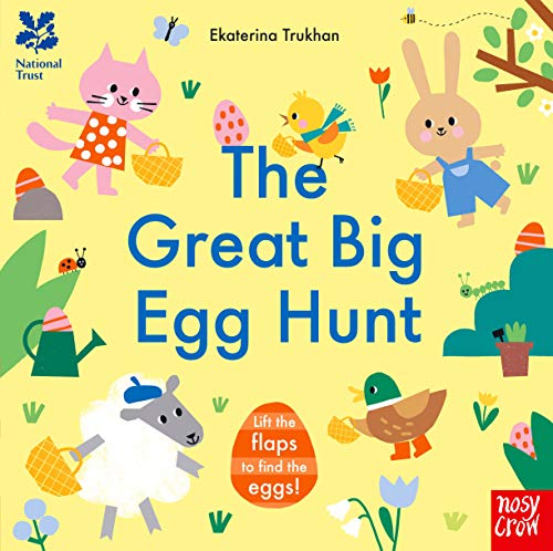 National Trust: The Great Big Egg Hunt By Ekaterina Trukhan
