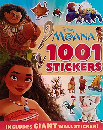 MOANA: 1001 Stickers By autumn (AUU29)