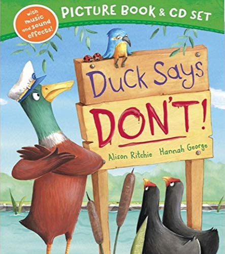 Duck Says Don't Book & CD Set By Alison Ritchie