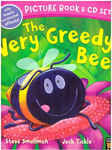 THE VERY GREEDY BEE BOOK & CD SET By Steve Smallman