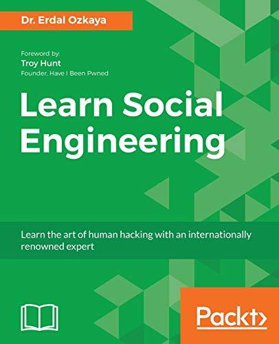 Learn Social Engineering By Erdal Ozkaya