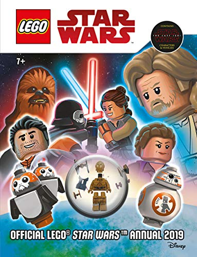Official Lego Star Wars Annual 2019 (with figurine)