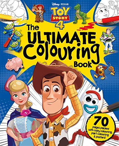 Disney Pixar Toy Story 4 The Ultimate Colouring Book By Igloo Books